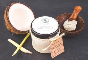 Body Butter Lemongrass and Coconut Oil, Seaweed Center, from seaweed
