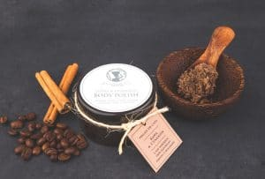 Coffee & Cinnamon Body Scrub Seaweed Center