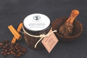 Coffee & Cinnamon Body Scrub 200ml Seaweed Center