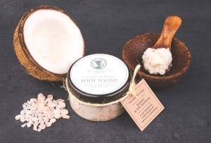 Coconut & Sea salt Body Scrub Seaweed Center