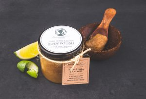 Pemba honey & Citrus Body Scrub Seaweed Center
