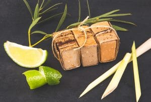 Zestaw kosmetyków z alg morskich, mini mydełka, Seaweed Center